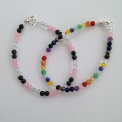 Custom order for semi precious stone bracelets