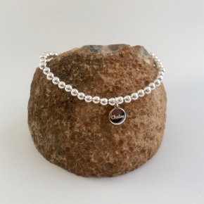 Sterling silver Chalso charm bracelet
