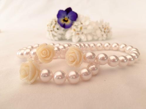 Flower girl bracelets