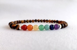 Tigers eye rainbow bracelet