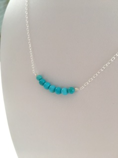 Sleeping Beauty Turquoise necklace.
