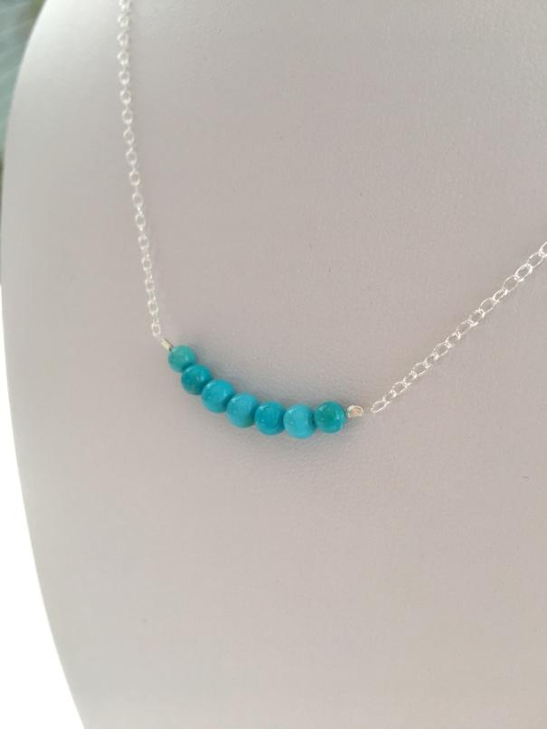 Sleeping Beauty Turquoise necklace.