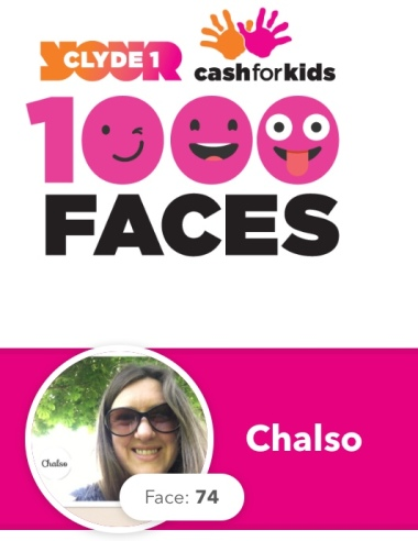 Clyde Cash for Kids 1000 Faces campaign. I'm Face 74!