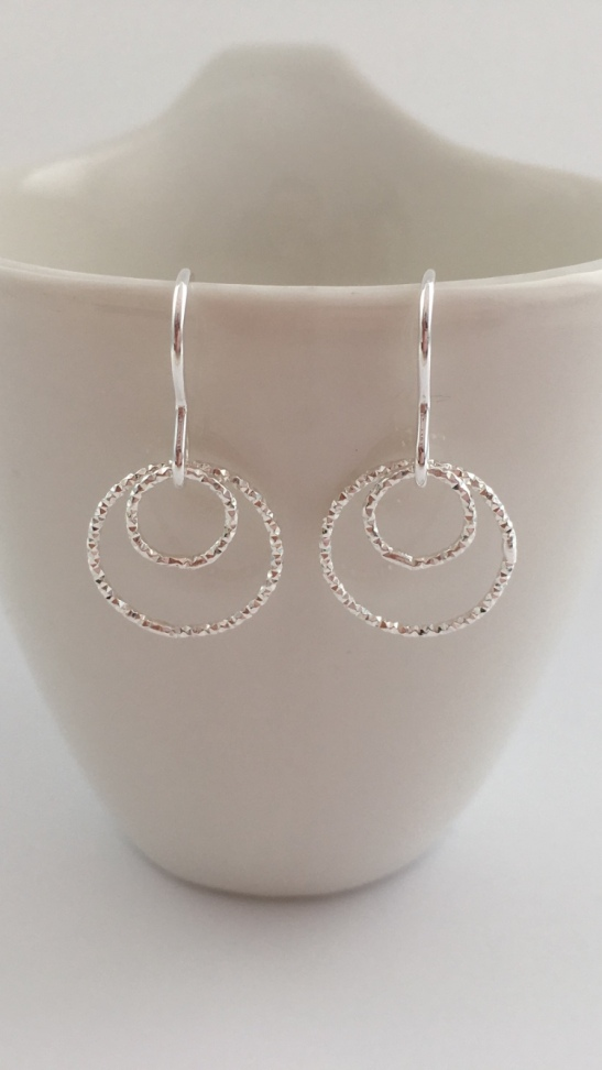 I thought of a mum-to-be when making these earrings. Its an amazing and unique kind of love you have for your unborn child, a person you are yet to meet, yet feel fiercely protective of.