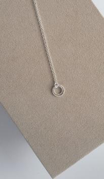 Double Circle pendant