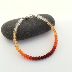 Ombré Fire Opal bracelet