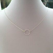 Single Circle necklace