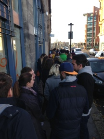 The queue at Etsy Made Local 2015
