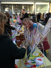 Claire Barclay Draws at Etsy Made Local 2015