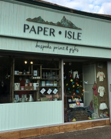 Paper Isle gift shop is located in Clarkston, Glasgow.