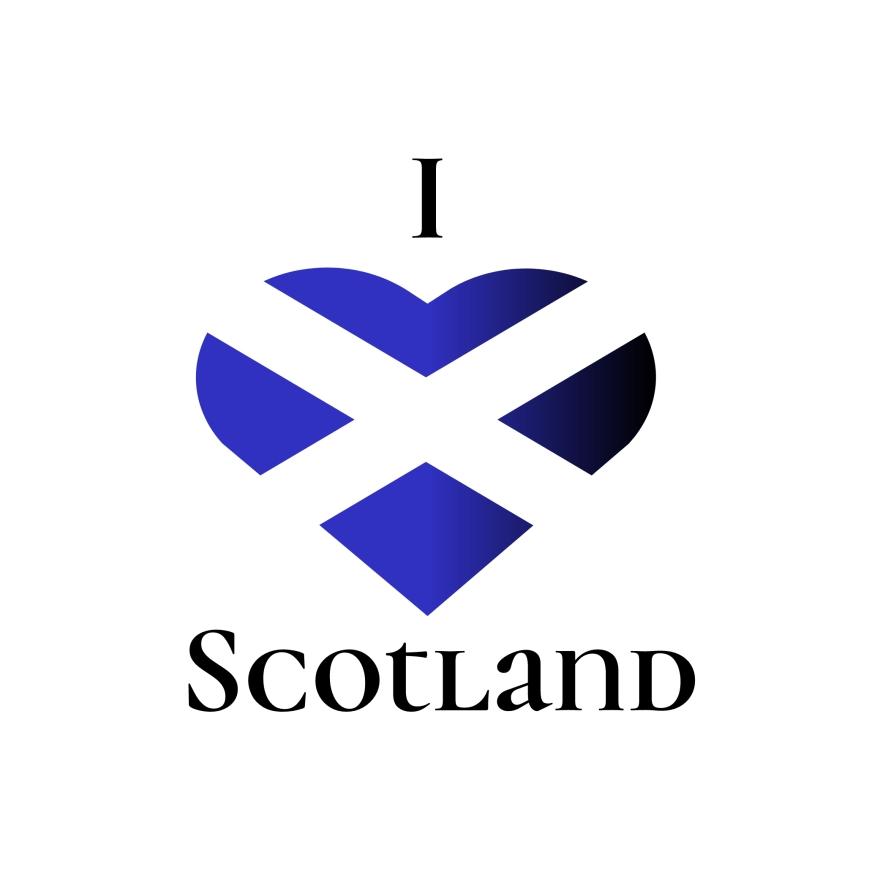 I Heart Scotland Etsy Team logo