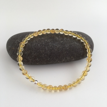 Citrine bracelet, a great gift for a November birthday.