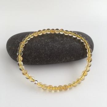 Citrine bracelet, a great gift for a November birthday.