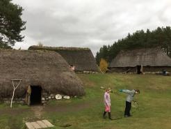 1700s village.